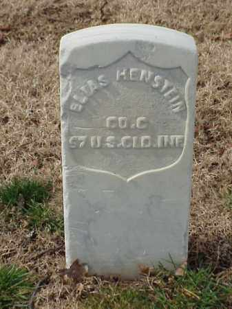 HENSTEIN  (VETERAN UNION), ELIAS - Pulaski County, Arkansas | ELIAS HENSTEIN  (VETERAN UNION) - Arkansas Gravestone Photos