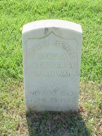 HENZE (VETERAN SAW), HENRY - Pulaski County, Arkansas | HENRY HENZE (VETERAN SAW) - Arkansas Gravestone Photos