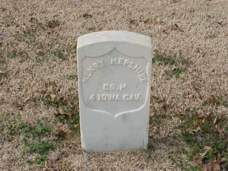 HEPSHIRE  (VETERAN UNION), HENRY - Pulaski County, Arkansas | HENRY HEPSHIRE  (VETERAN UNION) - Arkansas Gravestone Photos