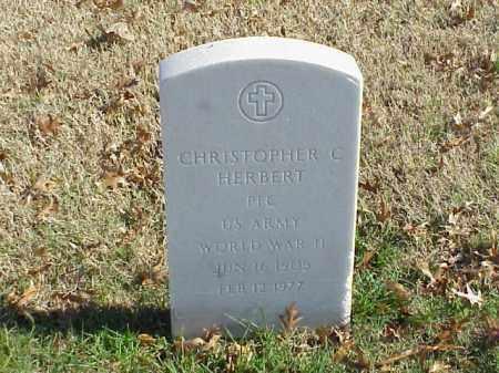 HERBERT  (VETERAN WWII), CHRISTOPHER C - Pulaski County, Arkansas | CHRISTOPHER C HERBERT  (VETERAN WWII) - Arkansas Gravestone Photos