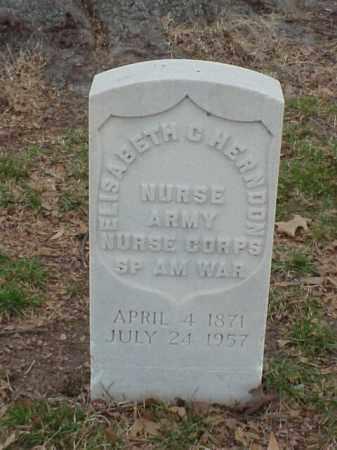 HERNDON (VETERAN SAW), ELISABETH - Pulaski County, Arkansas   ELISABETH HERNDON (VETERAN SAW) - Arkansas Gravestone Photos
