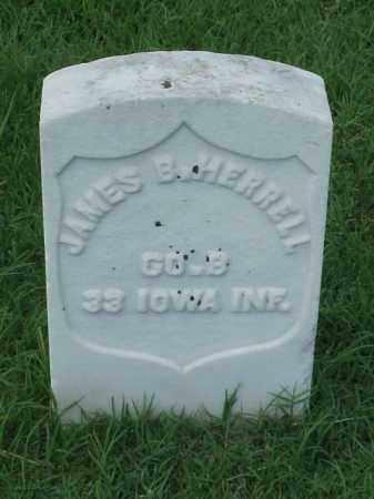 HERRELL (VETERAN UNION), JAMES B - Pulaski County, Arkansas   JAMES B HERRELL (VETERAN UNION) - Arkansas Gravestone Photos