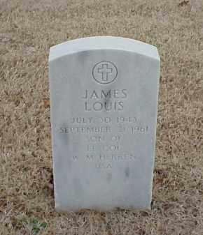 HERREN, JAMES LOUIS - Pulaski County, Arkansas | JAMES LOUIS HERREN - Arkansas Gravestone Photos