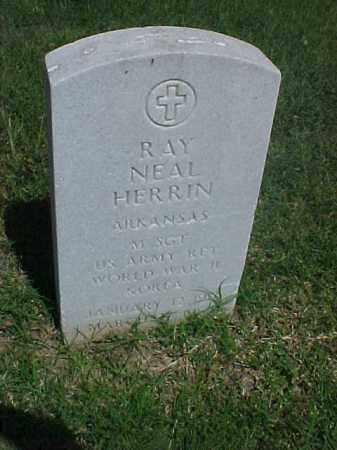 HERRIN (VETERAN 2 WARS), RAY NEAL - Pulaski County, Arkansas | RAY NEAL HERRIN (VETERAN 2 WARS) - Arkansas Gravestone Photos