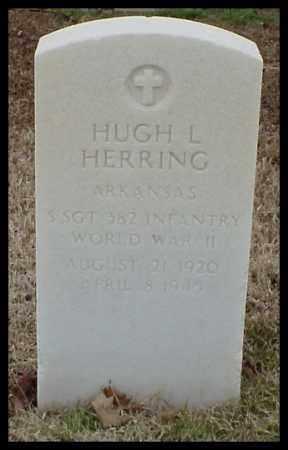 HERRING (VETERAN WWII), HUGH L - Pulaski County, Arkansas | HUGH L HERRING (VETERAN WWII) - Arkansas Gravestone Photos