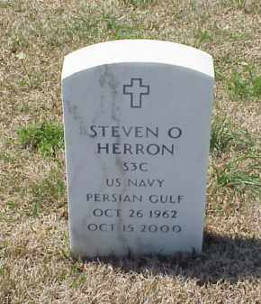 HERRON (VETERAN PGW), STEVEN O - Pulaski County, Arkansas   STEVEN O HERRON (VETERAN PGW) - Arkansas Gravestone Photos