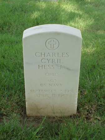 HESS, JR (VETERAN KOR), CHARLES CYRIL - Pulaski County, Arkansas | CHARLES CYRIL HESS, JR (VETERAN KOR) - Arkansas Gravestone Photos