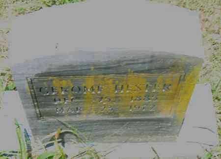 HESTER, GEROME - Pulaski County, Arkansas   GEROME HESTER - Arkansas Gravestone Photos