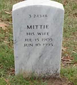 HESTER, MITTIE - Pulaski County, Arkansas   MITTIE HESTER - Arkansas Gravestone Photos