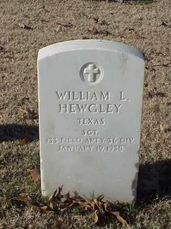 HEWGLEY  (VETERAN WWI), WILLIAM L - Pulaski County, Arkansas | WILLIAM L HEWGLEY  (VETERAN WWI) - Arkansas Gravestone Photos
