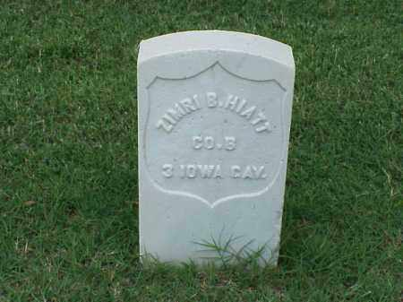 HIATT (VETERAN UNION), ZIMRI B - Pulaski County, Arkansas | ZIMRI B HIATT (VETERAN UNION) - Arkansas Gravestone Photos