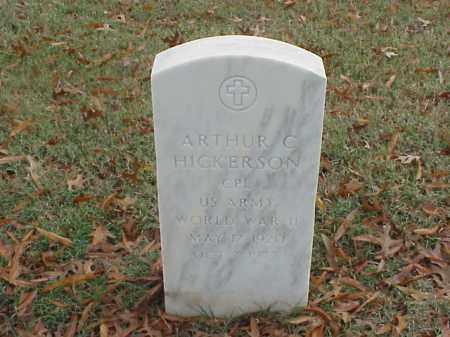 HICKERSON  (VETERAN WWII), ARTHUR C - Pulaski County, Arkansas | ARTHUR C HICKERSON  (VETERAN WWII) - Arkansas Gravestone Photos