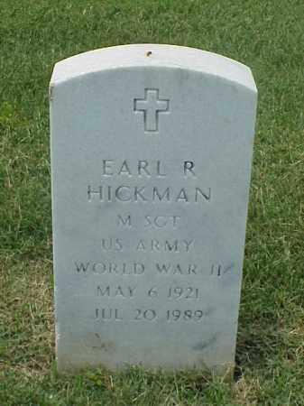 HICKMAN (VETERAN WWII), EARL R - Pulaski County, Arkansas | EARL R HICKMAN (VETERAN WWII) - Arkansas Gravestone Photos