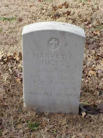 HICKS  (VETERAN WWI), HARVEY E - Pulaski County, Arkansas | HARVEY E HICKS  (VETERAN WWI) - Arkansas Gravestone Photos