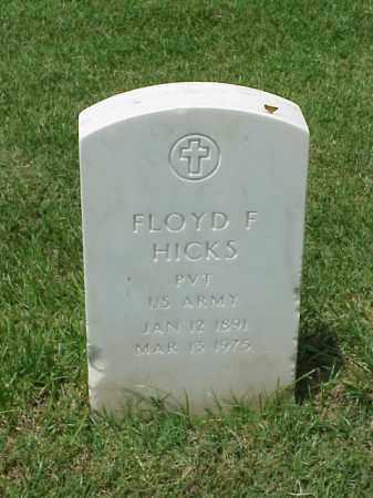 HICKS (VETERAN WWI), FLOYD F - Pulaski County, Arkansas | FLOYD F HICKS (VETERAN WWI) - Arkansas Gravestone Photos