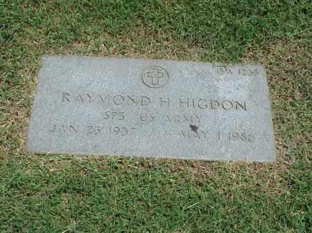 HIGDON (VETERAN), RAYMOND H - Pulaski County, Arkansas | RAYMOND H HIGDON (VETERAN) - Arkansas Gravestone Photos