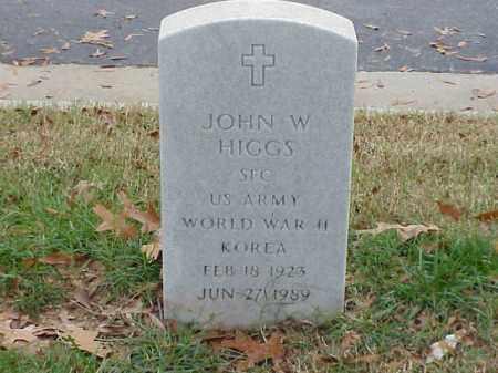 HIGGS  (VETERAN 2 WARS), JOHN W - Pulaski County, Arkansas | JOHN W HIGGS  (VETERAN 2 WARS) - Arkansas Gravestone Photos