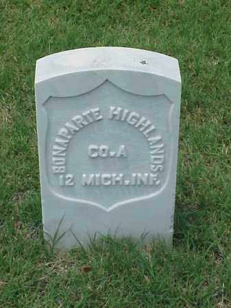 HIGHLANDS (VETERAN UNION), BONAPARTE - Pulaski County, Arkansas | BONAPARTE HIGHLANDS (VETERAN UNION) - Arkansas Gravestone Photos