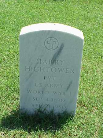 HIGHTOWER (VETERAN WWI), HARRY - Pulaski County, Arkansas | HARRY HIGHTOWER (VETERAN WWI) - Arkansas Gravestone Photos