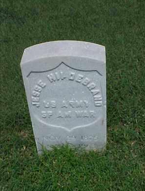 HILDEBRAND (VETERAN SAW), JESSE - Pulaski County, Arkansas | JESSE HILDEBRAND (VETERAN SAW) - Arkansas Gravestone Photos
