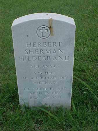 HILDEBRAND (VETERAN VIET), HERBERT SHERMAN - Pulaski County, Arkansas | HERBERT SHERMAN HILDEBRAND (VETERAN VIET) - Arkansas Gravestone Photos