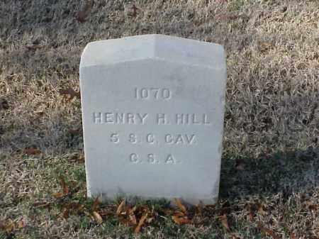 HILL  (VETERAN CSA), HENRY - Pulaski County, Arkansas | HENRY HILL  (VETERAN CSA) - Arkansas Gravestone Photos