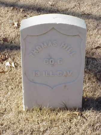 HILL  (VETERAN UNION), THOMAS - Pulaski County, Arkansas   THOMAS HILL  (VETERAN UNION) - Arkansas Gravestone Photos