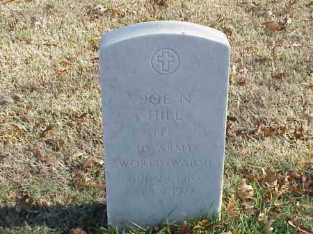 HILL  (VETERAN WWII), JOE N - Pulaski County, Arkansas | JOE N HILL  (VETERAN WWII) - Arkansas Gravestone Photos