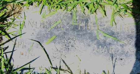 HILL, ANDREW,  JR. - Pulaski County, Arkansas | ANDREW,  JR. HILL - Arkansas Gravestone Photos