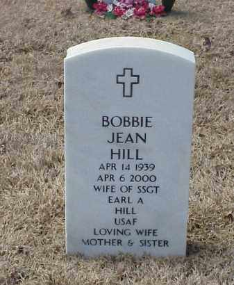HILL, BOBBIE JEAN - Pulaski County, Arkansas | BOBBIE JEAN HILL - Arkansas Gravestone Photos