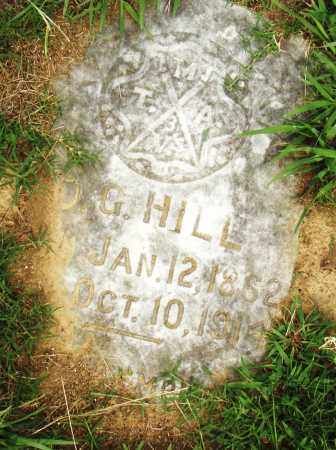 HILL, D. G. - Pulaski County, Arkansas   D. G. HILL - Arkansas Gravestone Photos