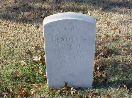 HILL, GLADYS W - Pulaski County, Arkansas | GLADYS W HILL - Arkansas Gravestone Photos