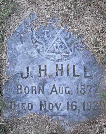 HILL, J H - Pulaski County, Arkansas | J H HILL - Arkansas Gravestone Photos