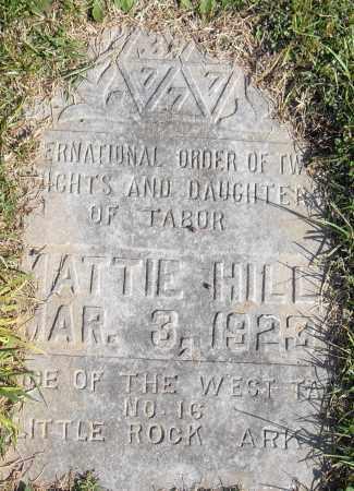 HILL, MATTIE - Pulaski County, Arkansas   MATTIE HILL - Arkansas Gravestone Photos