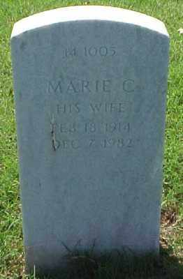 HILL, MARIE C - Pulaski County, Arkansas | MARIE C HILL - Arkansas Gravestone Photos