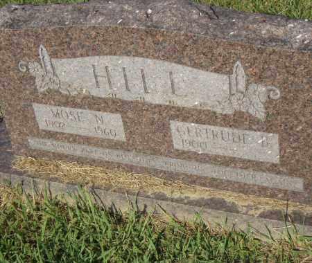 HILL, GERTRUDE B - Pulaski County, Arkansas   GERTRUDE B HILL - Arkansas Gravestone Photos