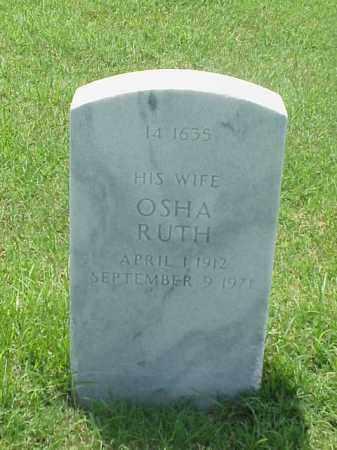 HILL, OSHA RUTH - Pulaski County, Arkansas   OSHA RUTH HILL - Arkansas Gravestone Photos