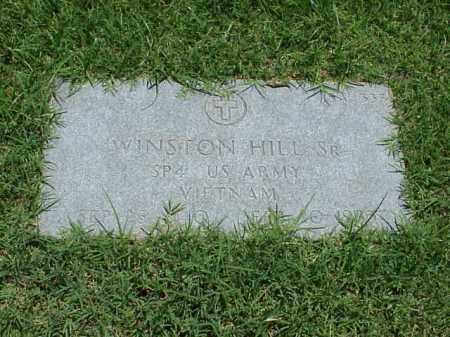 HILL, SR (VETERAN VIET), WINSTON - Pulaski County, Arkansas | WINSTON HILL, SR (VETERAN VIET) - Arkansas Gravestone Photos