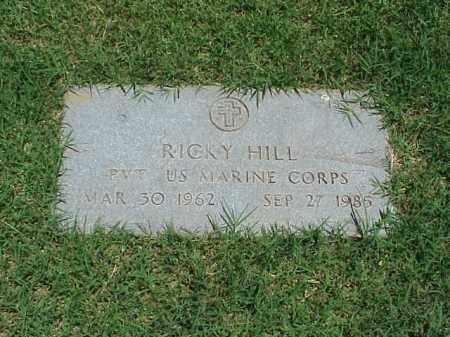 HILL (VETERAN), RICKY - Pulaski County, Arkansas | RICKY HILL (VETERAN) - Arkansas Gravestone Photos