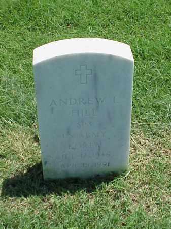 HILL (VETERAN KOR), ANDREW L - Pulaski County, Arkansas   ANDREW L HILL (VETERAN KOR) - Arkansas Gravestone Photos