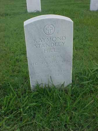 HILL (VETERAN), RAYMOND STANDLEY - Pulaski County, Arkansas | RAYMOND STANDLEY HILL (VETERAN) - Arkansas Gravestone Photos