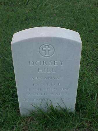 HILL (VETERAN WWI), DORSEY - Pulaski County, Arkansas | DORSEY HILL (VETERAN WWI) - Arkansas Gravestone Photos