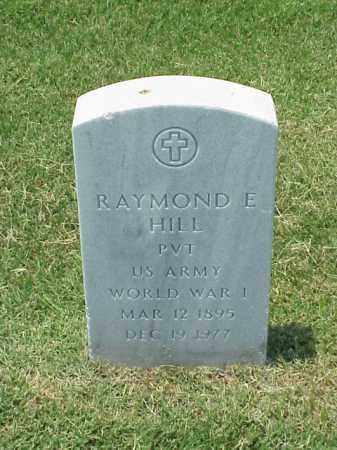 HILL (VETERAN WWI), RAYMOND E - Pulaski County, Arkansas | RAYMOND E HILL (VETERAN WWI) - Arkansas Gravestone Photos