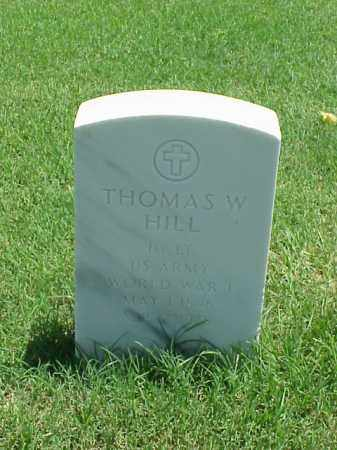 HILL (VETERAN WWI), THOMAS W - Pulaski County, Arkansas | THOMAS W HILL (VETERAN WWI) - Arkansas Gravestone Photos