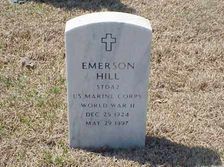 HILL (VETERAN WWII), EMERSON - Pulaski County, Arkansas | EMERSON HILL (VETERAN WWII) - Arkansas Gravestone Photos