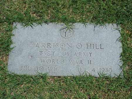 HILL (VETERAN WWII), HARRISON O - Pulaski County, Arkansas | HARRISON O HILL (VETERAN WWII) - Arkansas Gravestone Photos