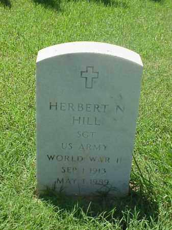 HILL (VETERAN WWII), HERBERT N - Pulaski County, Arkansas | HERBERT N HILL (VETERAN WWII) - Arkansas Gravestone Photos