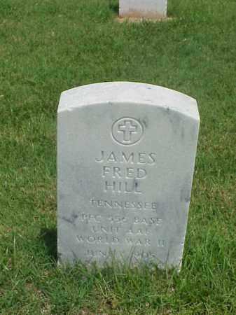 HILL (VETERAN WWII), JAMES FRED - Pulaski County, Arkansas | JAMES FRED HILL (VETERAN WWII) - Arkansas Gravestone Photos