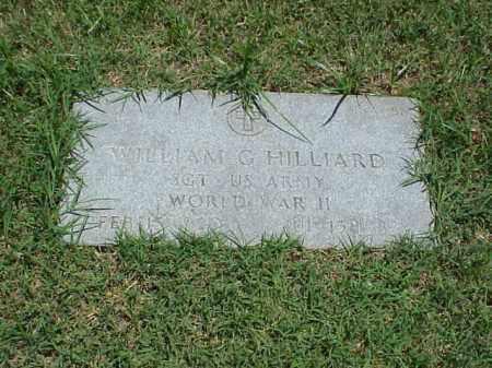 HILLIARD (VETERAN WWII), WILLIAM G - Pulaski County, Arkansas   WILLIAM G HILLIARD (VETERAN WWII) - Arkansas Gravestone Photos