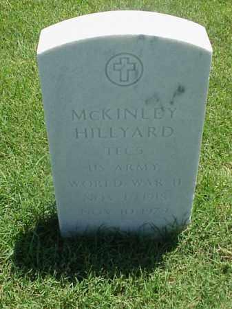 HILLYARD (VETERAN WWII), MCKINLEY - Pulaski County, Arkansas   MCKINLEY HILLYARD (VETERAN WWII) - Arkansas Gravestone Photos